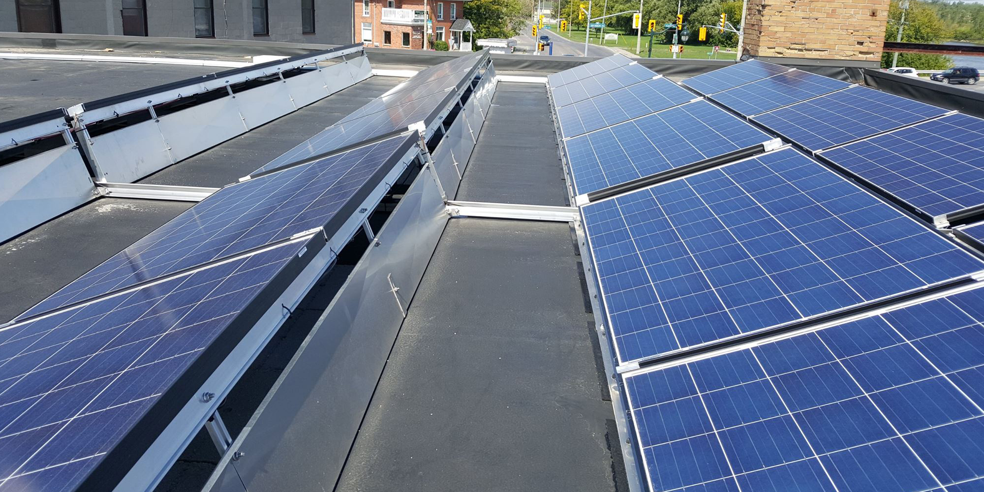 Solar Direct Canada Ontario Contractors On Ford Panel Roof